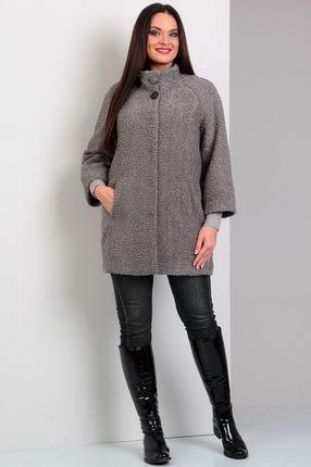 Купить со скидкой Пальто Jurimex 1616 серый