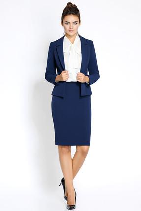 Купить Комплект юбочный PIRS 192 синий, Юбочные, 192, синий, 96% полиэстр 4% спандекс, Мультисезон