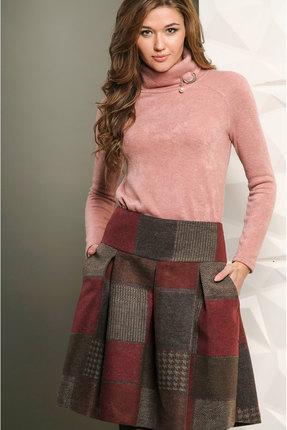 Купить Джемпер Golden Valley 26254 розовый, Джемпера, 26254, розовый, Трикотаж (полиэстер 45%, Пан 65%), Мультисезон