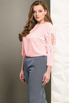 Купить Блузка Golden Valley 26250 розовый, Блузки, 26250, розовый, Текстиль (полиэстер 96%, спандекс 4%), Мультисезон
