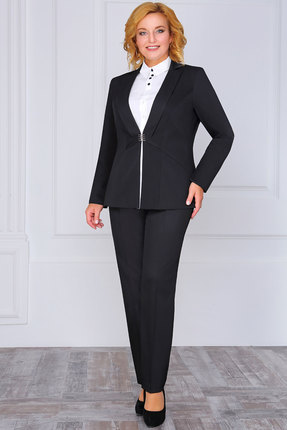 женский брючный костюм lakona, черный