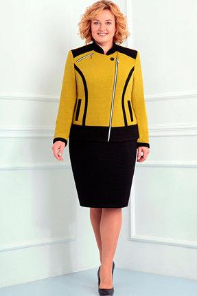 Комплект юбочный Асолия 1155 чёрный+