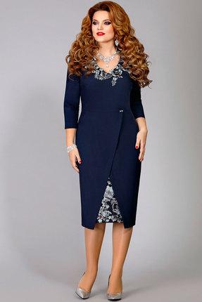 Платье Mira Fashion 4320 синий