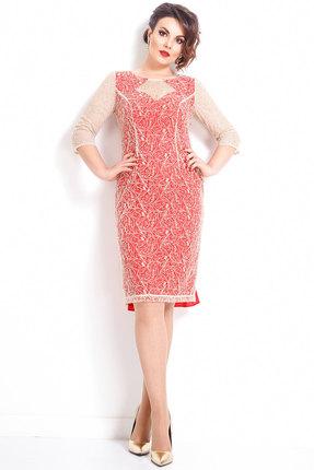 Купить со скидкой Платье JeRusi 17110 красный