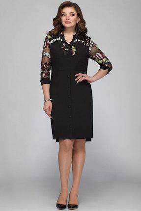 Купить Платье Matini 31147 черные тона, Платья, 31147, черные тона, 91% пэ, 9% спандекс, Мультисезон