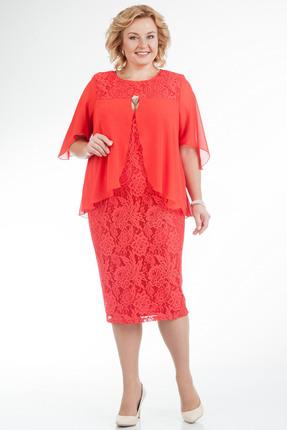 Купить Платье Pretty 593 красный, Платья, 593, красный, 96% полиэстр 4% спандекс, 100% полиэстр, Мультисезон