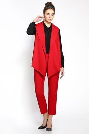 Комплект брючный PIRS 223 красный+черный