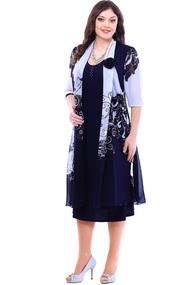 Платье Camelia 1312 сине-белый