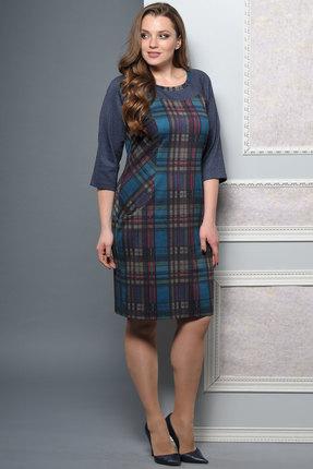 Купить со скидкой Платье Lady Style Classic 1160 синий