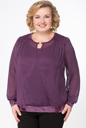 Блузка Медея и К 1836 фиолетовый