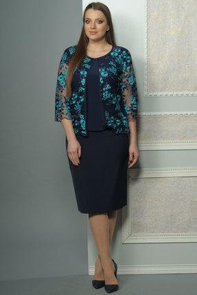 Купить со скидкой Комплект юбочный Lady Style Classic 1460 темно-синий