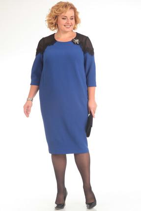 Платье Pretty 626 василек, Платья, 626, василек, 96% полиэстр 4% спандекс, 100% полиэстр, Мультисезон  - купить со скидкой