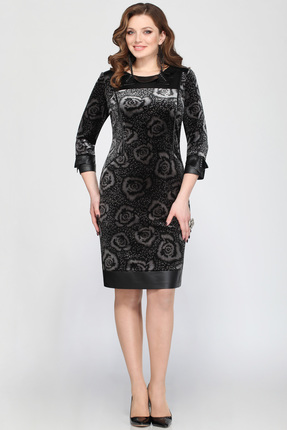 Купить со скидкой Платье Matini 3484 черные тона