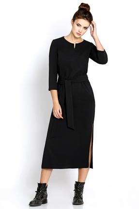 Купить Платье PIRS 246 черный, Платья, 246, черный, 80% полиэстр 20% вискоза, Мультисезон