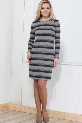 Купить Платье Bonna Image 293 серый, Платья, 293, серый, 62% ПЭ, 33% Вискоза, 5% Спандекс, Мультисезон