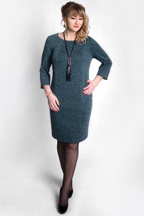 Купить Платье SWALLOW 073 зеленый, Платья, 073, зеленый, 11% полиэстер, 85% вискоза, 4% эластан, Мультисезон