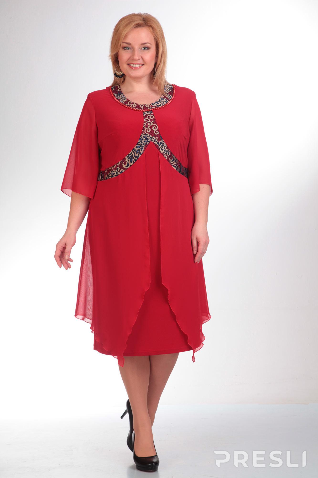 Платье Pretty 285 красный