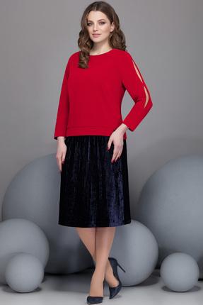 Купить со скидкой Комплект юбочный Ivelta plus 2432 красно-черные тона