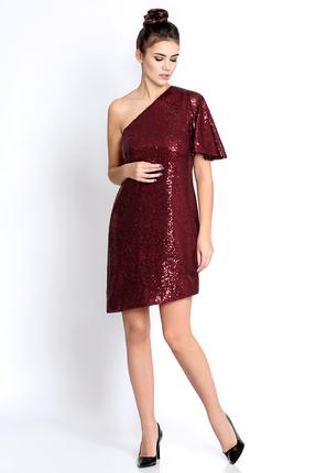 Фото - Платье PIRS 258 бордовые тона цвет бордовые тона