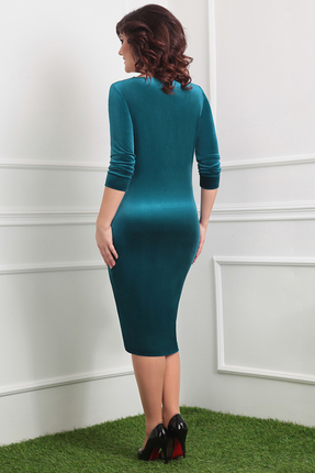 Фото 3 - Платье Мода-Юрс 2320 зеленые тона цвет зеленые тона