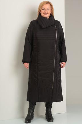 Пальто Диамант 1235 черный