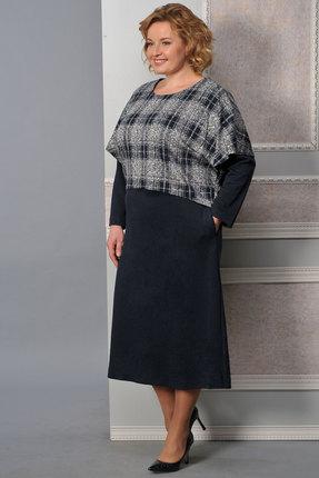 Купить со скидкой Комплект плательный Lady Style Classic 1351 синий