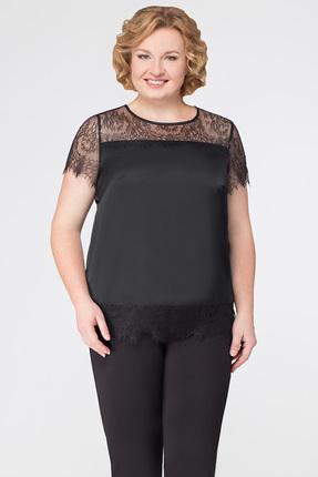 женская блузка медея и к, черная