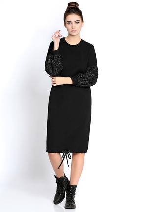 Фото - Платье PIRS 275 черный черного цвета
