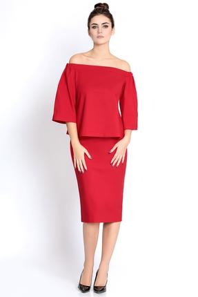 Фото - Комплект юбочный PIRS 278 красный красного цвета