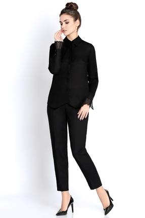 Фото - Комплект брючный PIRS 288 черный черного цвета
