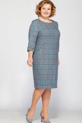 Купить Платье Bonna Image 15-130 серый, Платья, 15-130, серый, Вискоза 75%, ПЭ 22%, СП 3%, Мультисезон
