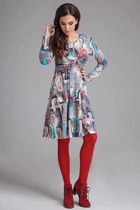 Фото #1: Платье Teffi style 1270 акварель