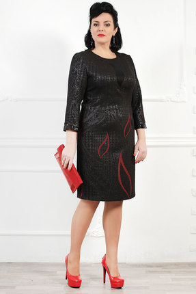 Купить со скидкой Платье Мадам Рита 895 черный