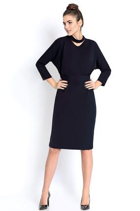 Купить Платье PIRS 296 синий, Платья, 296, синий, 96% полиэстер 4% спандекс, Мультисезон