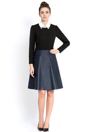 Купить Платье PIRS 298 черный, Платья, 298, черный, 96% хлопок 4% эластан, 96% полиэстер 4% спандекс, 55% полиэстер 35% вискоза 10% спандекс, Мультисезон