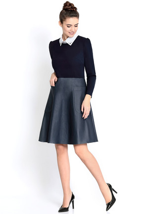 Купить Платье PIRS 298 синий, Платья, 298, синий, 96% хлопок 4% эластан, 96% полиэстер 4% спандекс, 55% полиэстер 35% вискоза 10% спандекс, Мультисезон