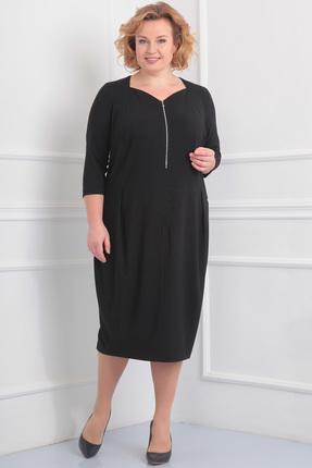 Фото - Платье Новелла Шарм 2900 черный черного цвета