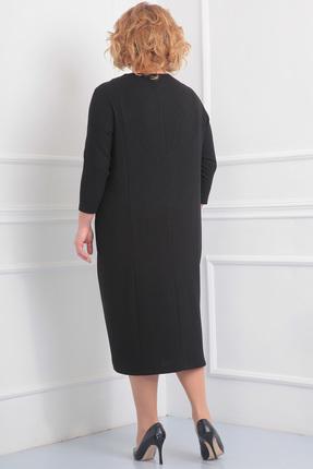 Фото 2 - Платье Новелла Шарм 2900 черный черного цвета