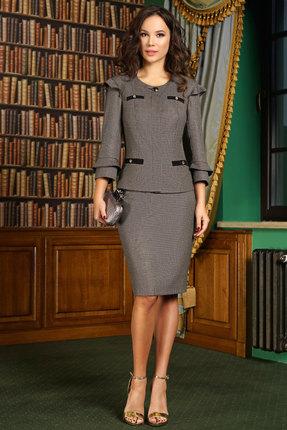 Купить Комплект юбочный Lissana 3356 серый серого цвета
