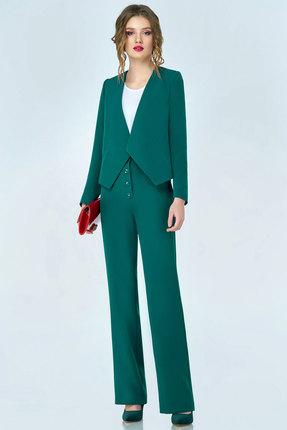 Купить со скидкой Комплект брючный Denissa Fashion 1127 зеленый