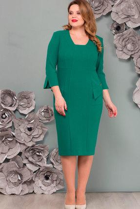 Платье Nadin-N 1487 зелёный