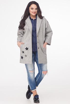 Купить со скидкой Пальто Avanti Erika 591 серый