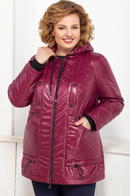 Куртка Ivelta plus 873 Бордовые тона