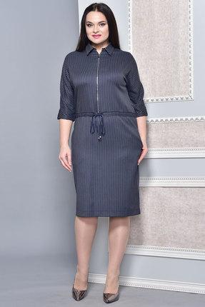 Купить со скидкой Платье Lady Style Classic 1373 чернильный