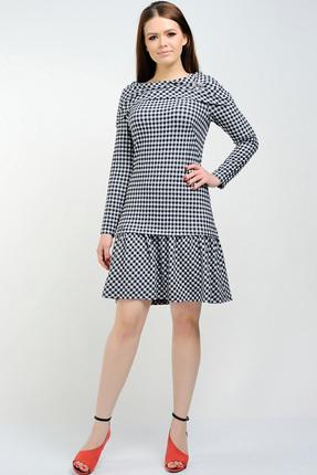 Купить со скидкой Платье Danaida 1377 черно-белый