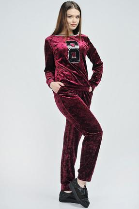 Купить со скидкой Спортивный костюм Danaida 1372 темно-бордовый