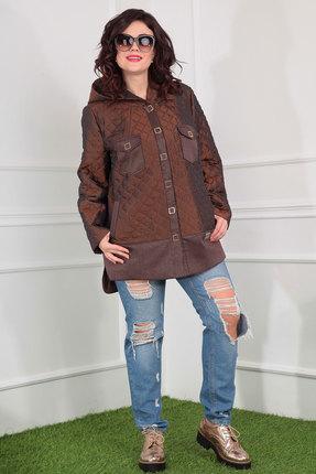 Куртка Мода-Юрс 2381 коричневый Мода-Юрс