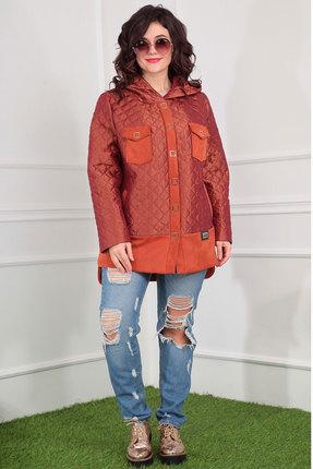 Куртка Мода-Юрс 2381 терракот Мода-Юрс
