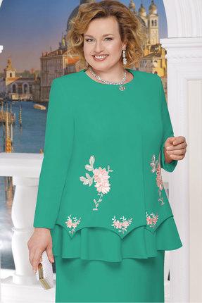 Купить Жакет Ninele 5609 зелёный, Жакеты, 5609, зелёный, Полиэстер-95%, Спандекс-5%, подкладка - ПЭ-100%, Мультисезон