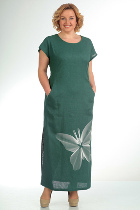 Платье Диамант 1090 зеленый